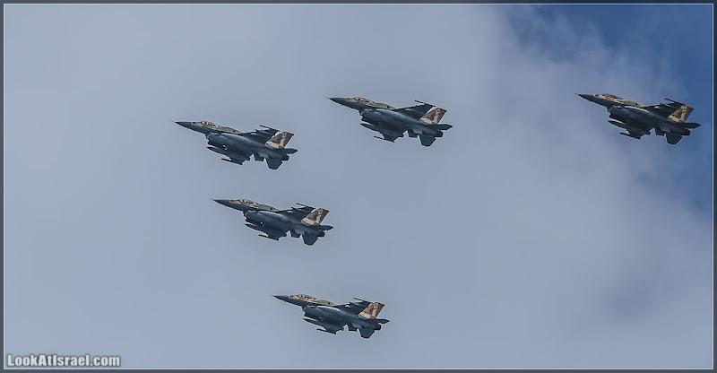 Летят самолеты - привет Израиль! День Независимости 64