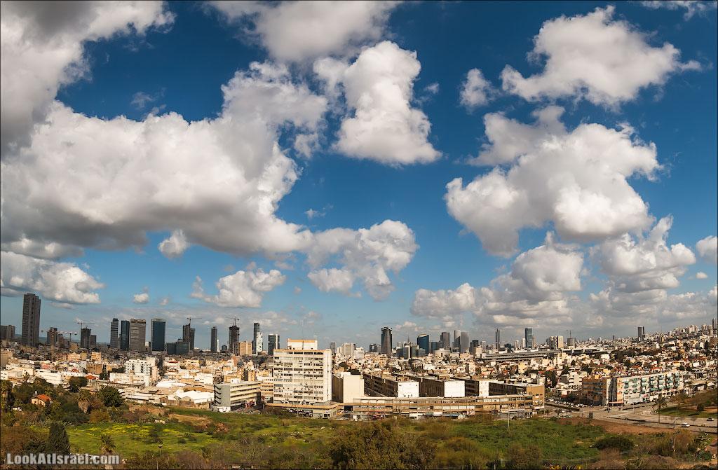 Самый необычный вид на Тель Авив