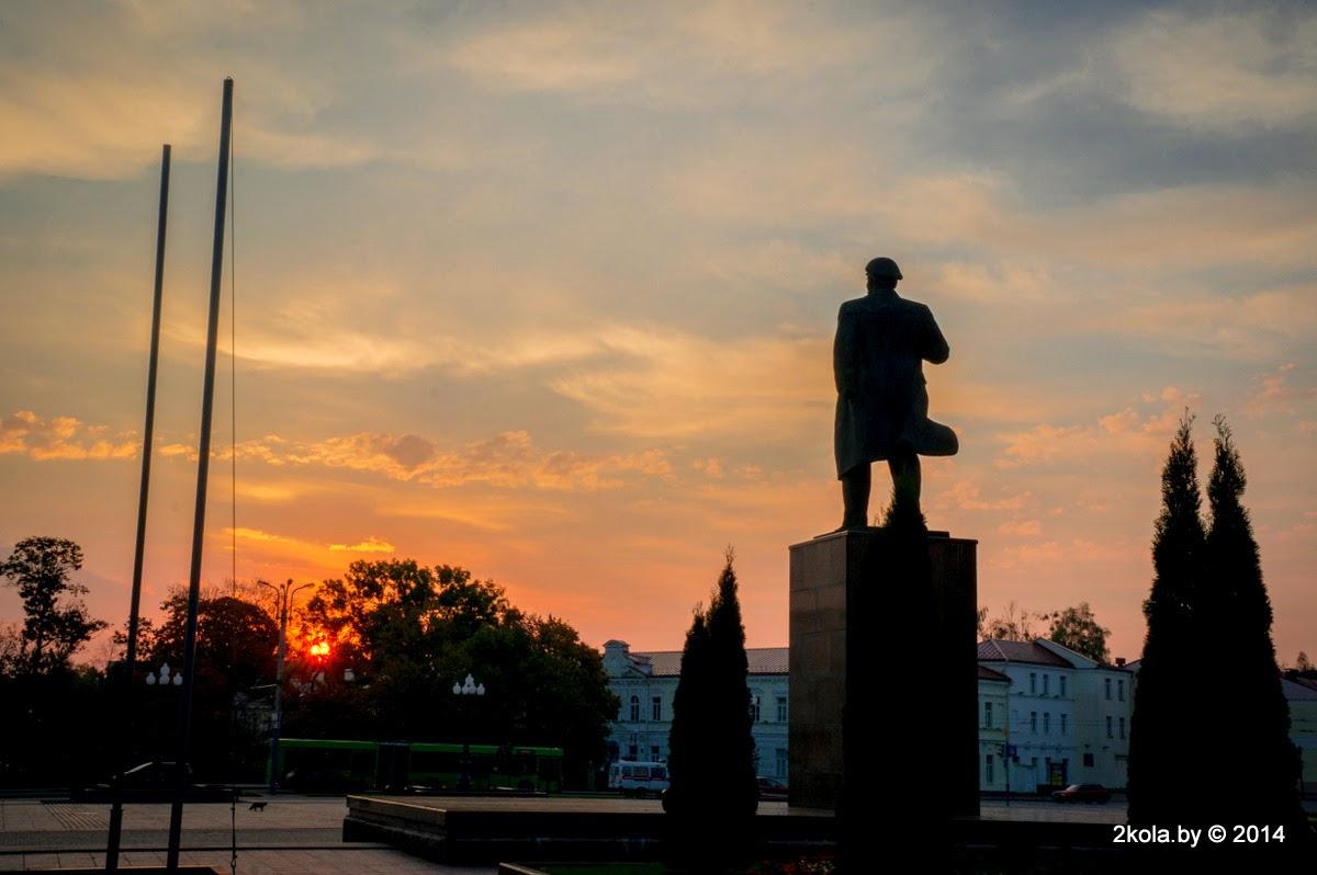Світанак на плошчы Леніна