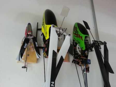 My RC Heli Collection