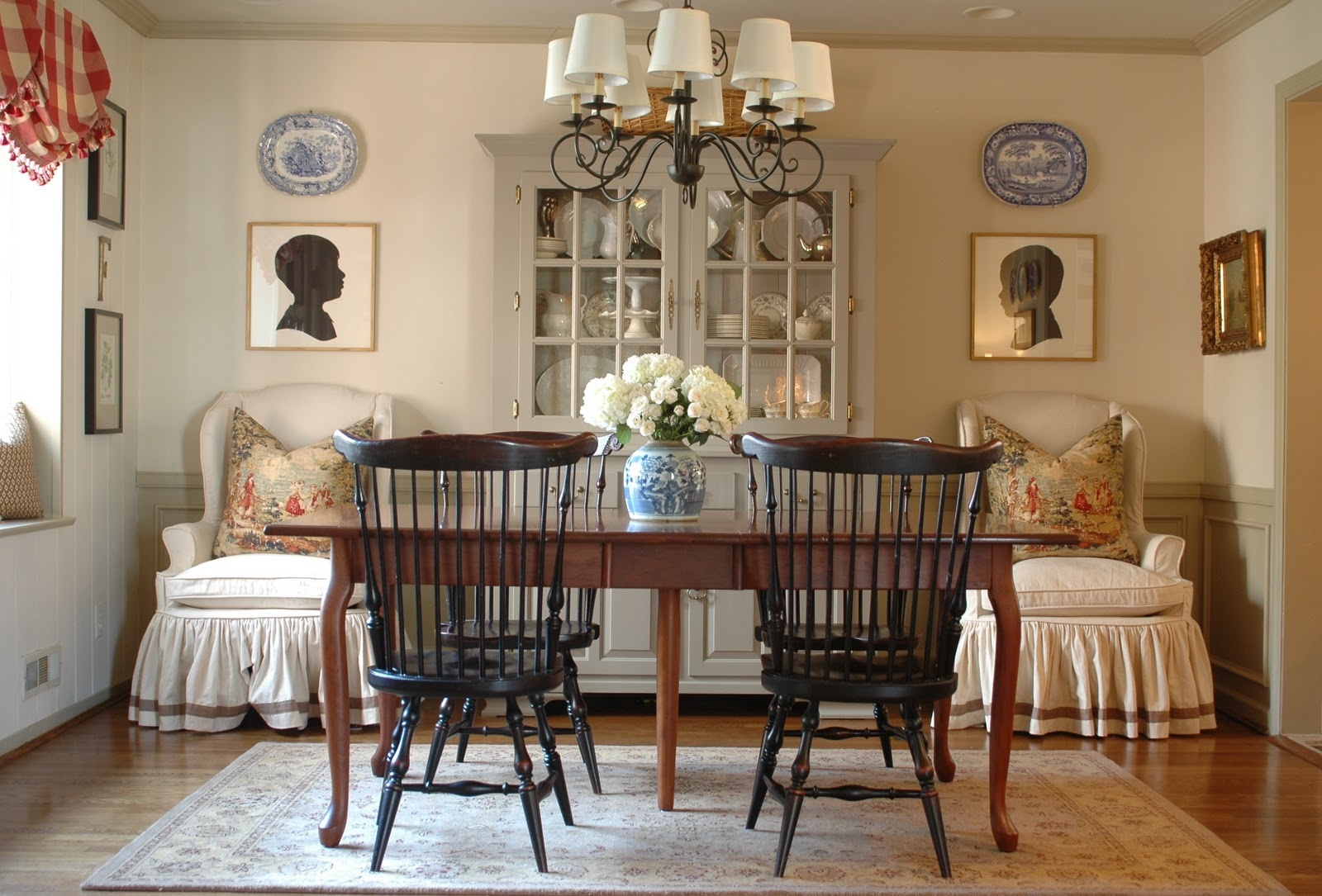 NINE + SIXTEEN: Before And After: Our Dining Room