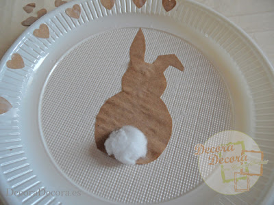 Decoración fácil para Pascua.