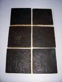 Little Brick House Clayworks: Ceramic Hearth tiles