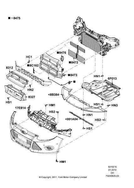 Ford Focus Parts Catalog With Diagrams. Ford. Auto Parts