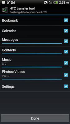 *簡單轉移手機資料到HTC新手機上:HTC 傳輸工具 (Android App) 4