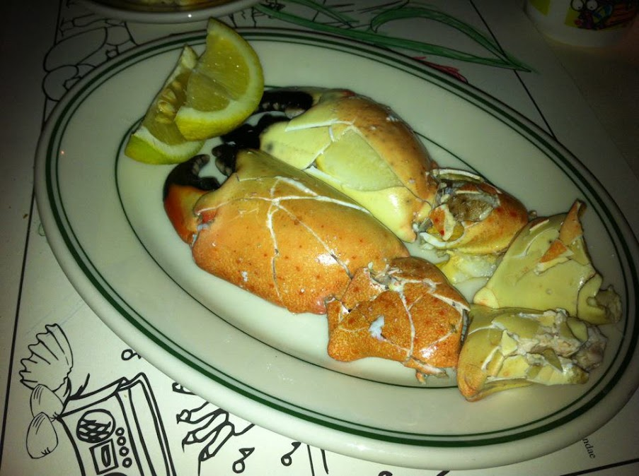 Stone Crabs at Joe's