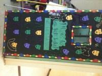 A Librarian Life For Me : -): More Door Decor - Mardi Gras ...