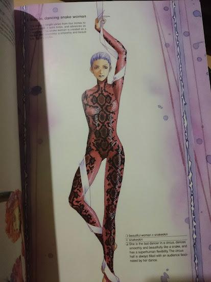 Dancing Snake Lady from Manga Matrix