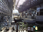 View from inside Kyoto Station
