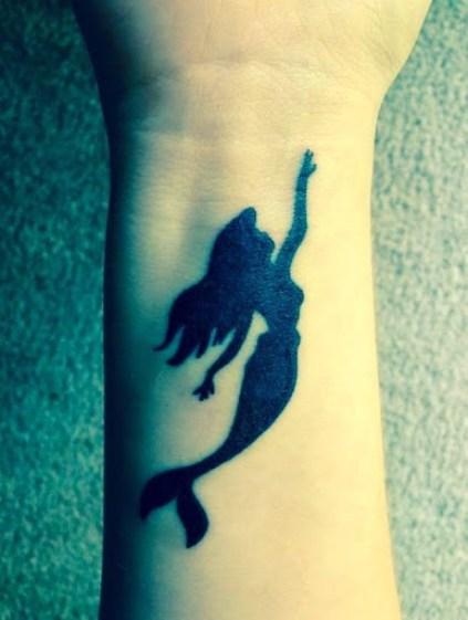 Mermaid Tattoos on wrist