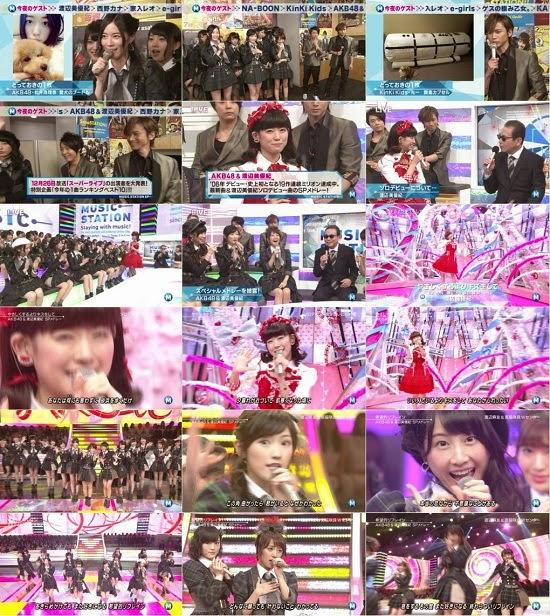 (TV-Music)(1080i) AKB48 part – Music Station 141128