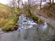 The path fords Keskadale Beck