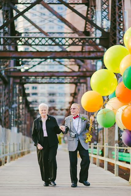 #相伴走過一甲子歲月:可愛老夫妻以『天外奇蹟』為靈感拍攝周年紀念照 4
