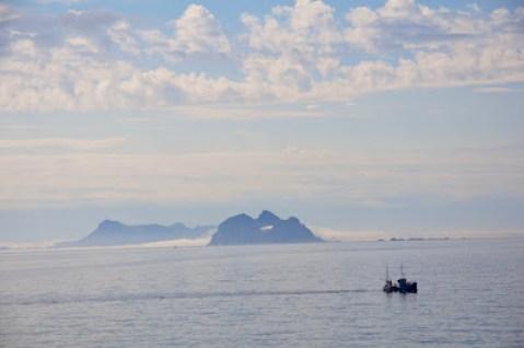 en route pour les Lofoten, Vaeroy et Rost