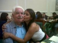Con mi abuelo Carlos
