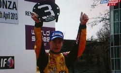 Stoffel Vandoorne 3e in Monza in race 2