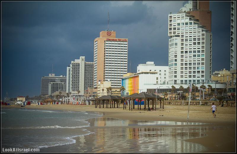 Одно фото / Тель Авив, пляж Гордон, пляж Фришман
