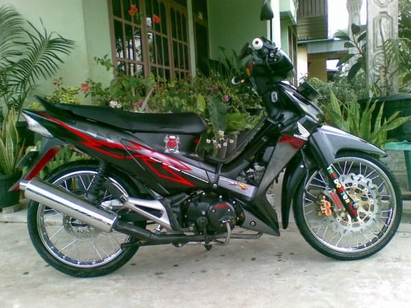 Modifikasi Motor Modifikasi Honda Supra X 125 Standar