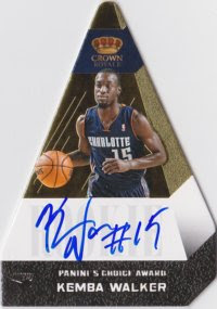 12/13 Preferred Gold Kemba Walker Auto