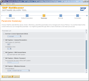 How to install SAP NetWeaver 7.x