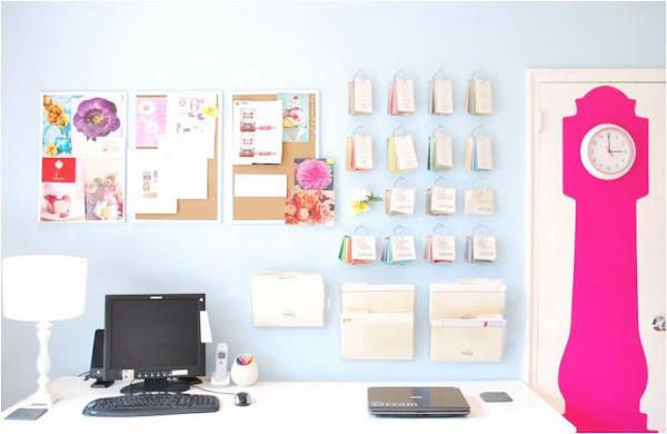 Decoración oficina brillante