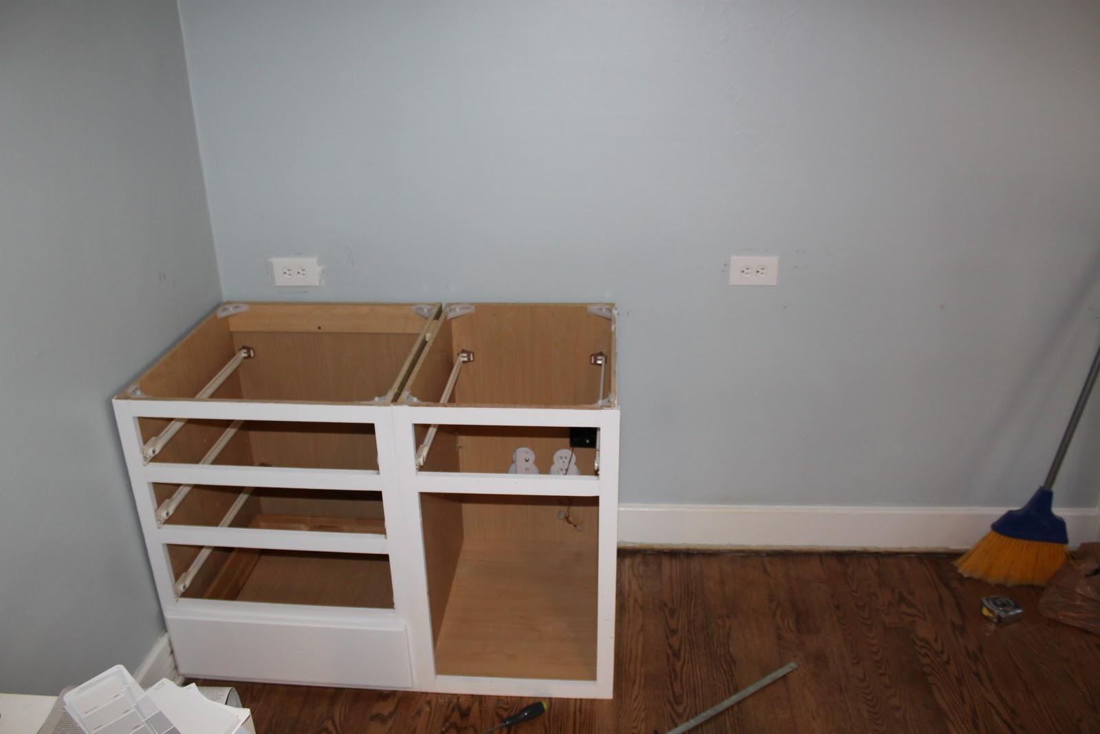 unfinished kitchen base cabinets standard size