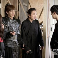 Fotos: Elenco de 'Triangle' encontra o elenco de 'Empress Ki', na MBC