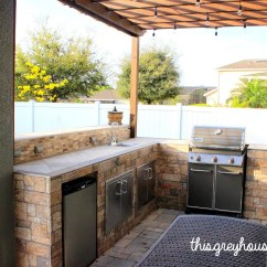 Do It Yourself Outdoor Kitchen Cabinet Knobs And Handles Our Diy This Grey House