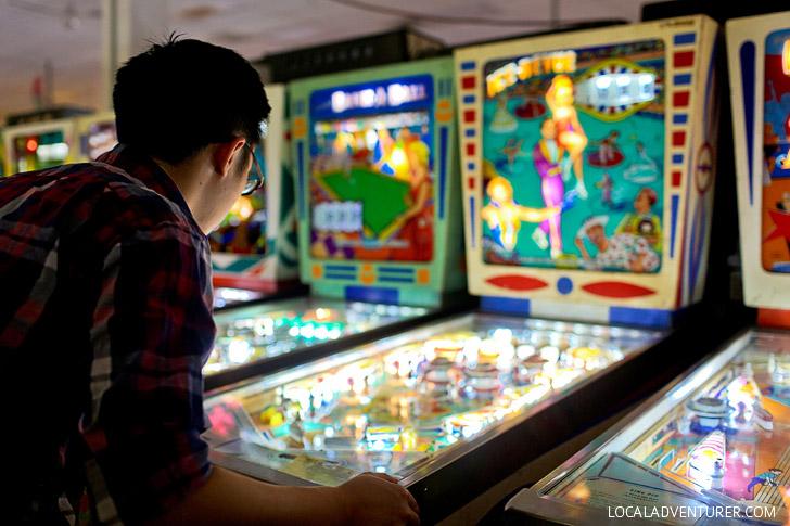 Pinball Museum Vegas - Cheap Date Ideas.