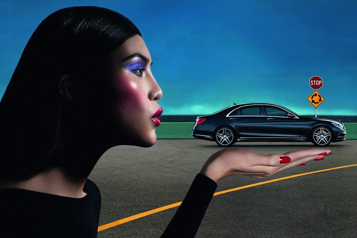 *極致品味的迷幻廣告:時尚編輯Carine Roitfeld x Mercedes-Benz 1