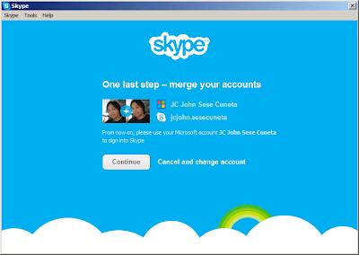 Merge WLM/MSN Messenger with Skype: Step 6