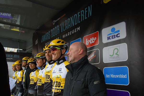 Team Lotto NL Jumbo en José Debels