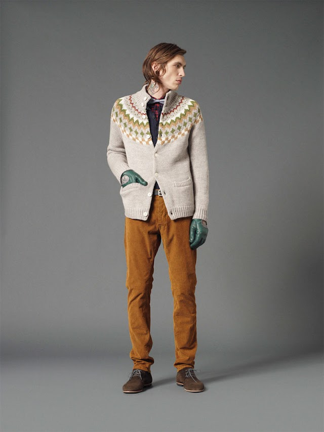 *Mauro Grifoni 和她的男人M.Grifoni Denim :Fall/Winter 2012-13 6