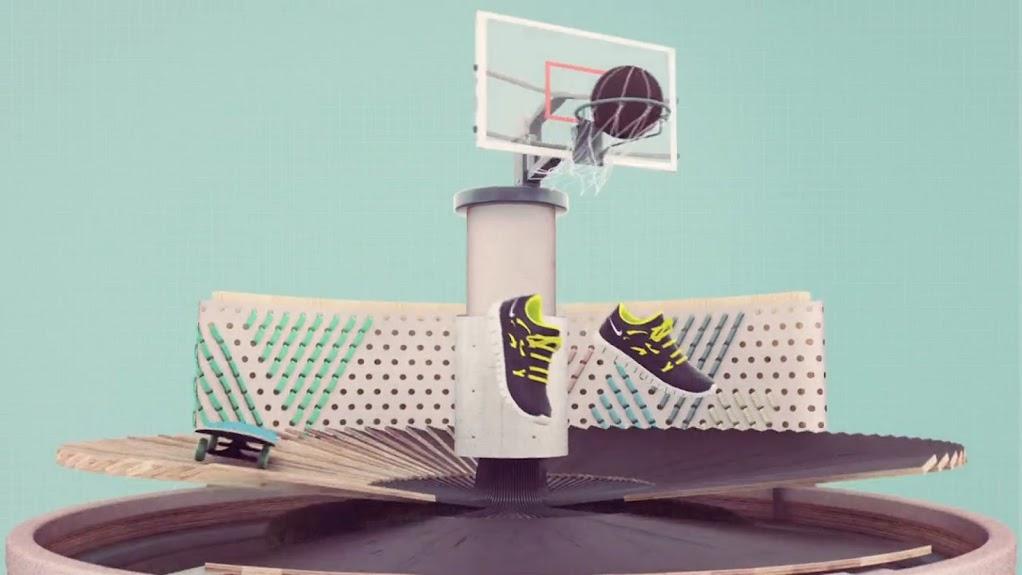 *Nike Grind跑鞋回收循環:趣味動畫短片! 3