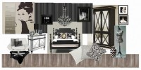 INTERIOR DESIGN CHATTER : Mood board inspiration - Ebony ...