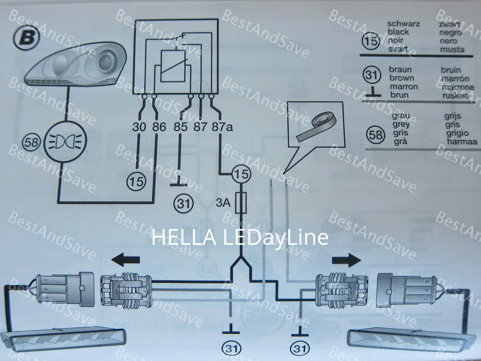 ipf wiring diagram 6 speaker piaa 510 harness kit