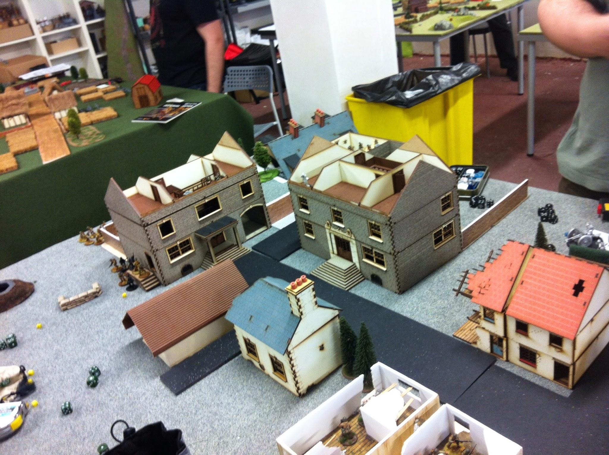 escenografía, terreno, edificios, 4Ground, Mantic Games, Bolt Action, Crying Grumpies