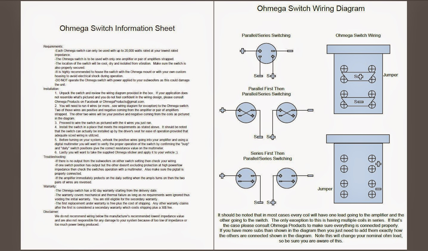 hight resolution of ohmega 2bswitch 2bpdfs new nominal load changing switch page 2 car audio classifieds orion 225 hcca wiring diagram