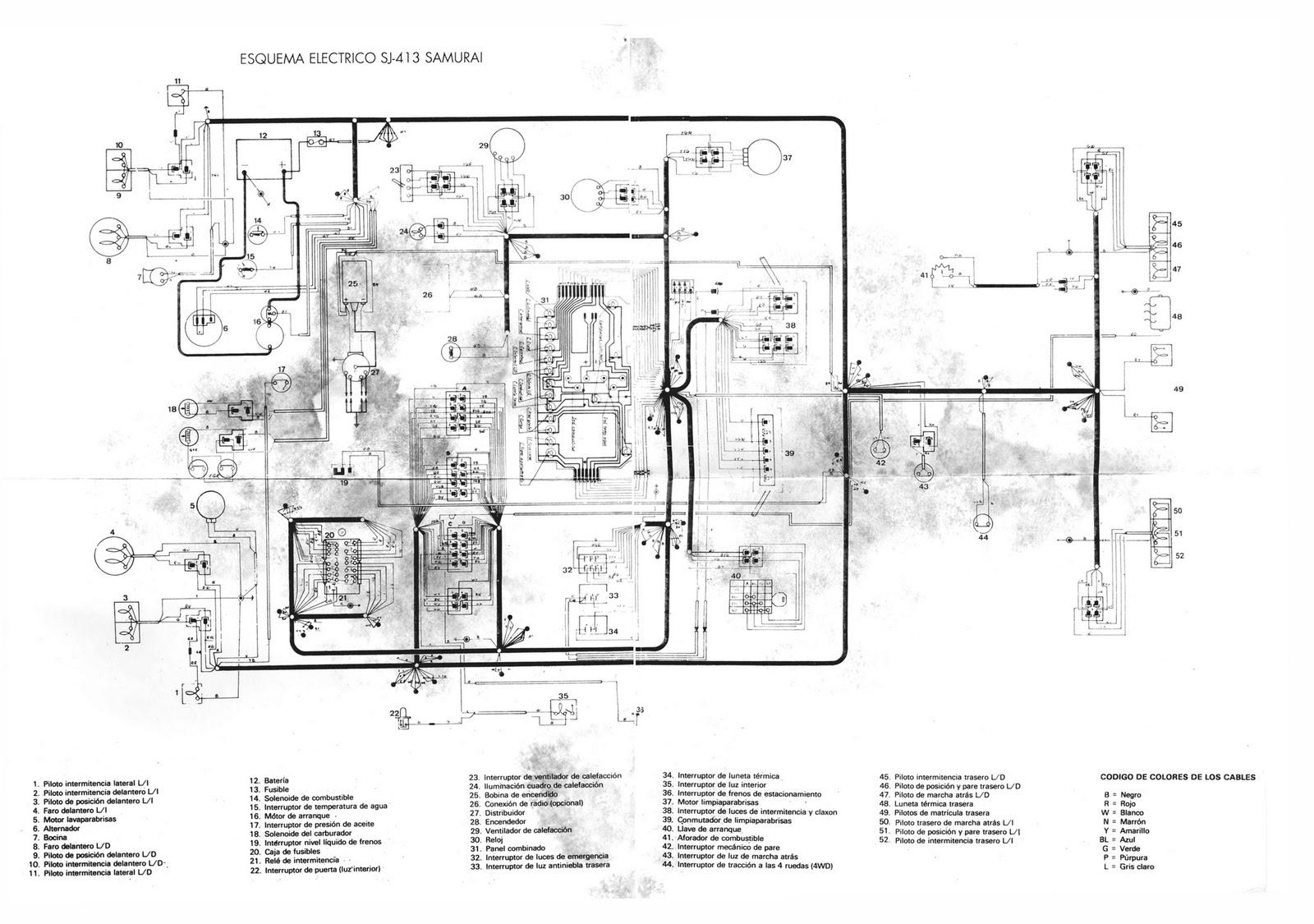 SuzukiJeepinfo: Scheme Electrical