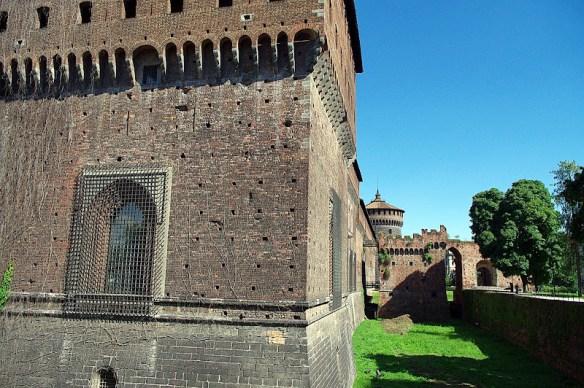 El castillo Sforzesco