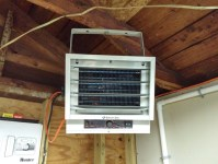 Electric Garage Heater With Wall Thermostat. Cadet The Hot
