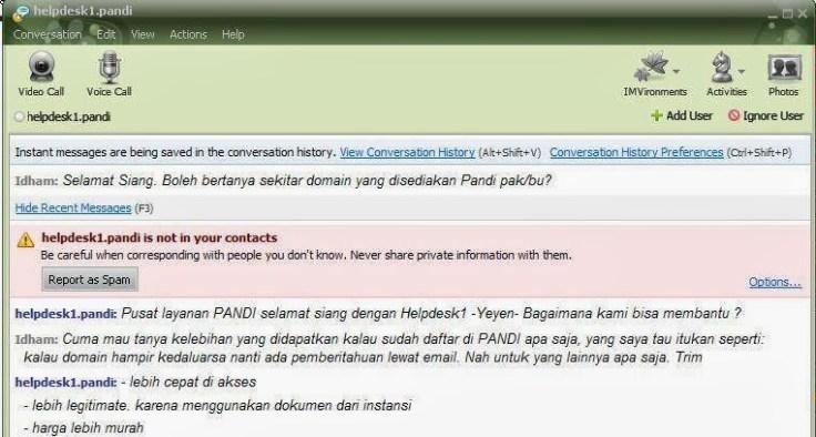 keunggulan dan kelebihan domain id dari PANDI