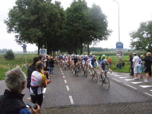Peloton van Eneco Tour