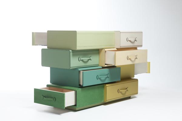 *皮革手提行李箱組合櫃:設計師Maarten de ceulaer探索世界旅行熱情! 6