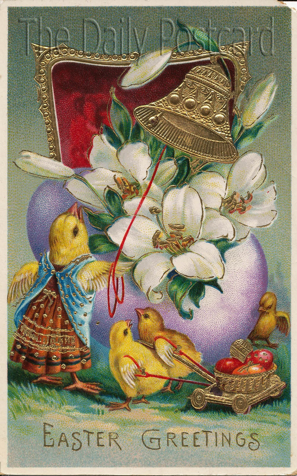 The Daily Postcard Easter Chicks