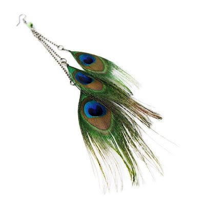 Mad Lady Shop | Peacock Earrings
