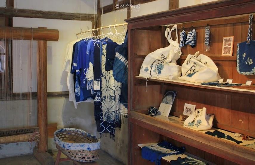 台南後壁墨林文物館,藍染熊手作坊-5