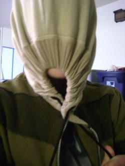 Li'l Man in his favorite hoodie