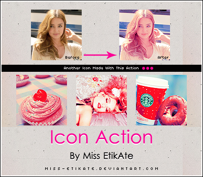 Icon action