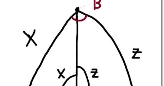 Eddie's Math and Calculator Blog: Spherical Triangle